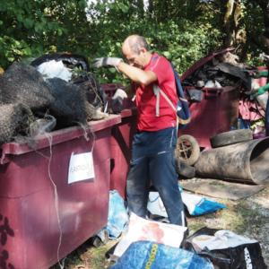 Bilan de l'opération «Lutte contre les dépôts sauvages» dans la métropole grenobloise
