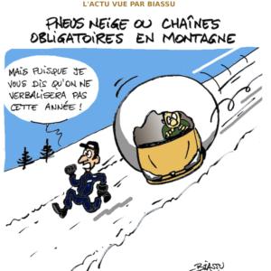pneus hiver en zones montagneuses: l'Isère concernée